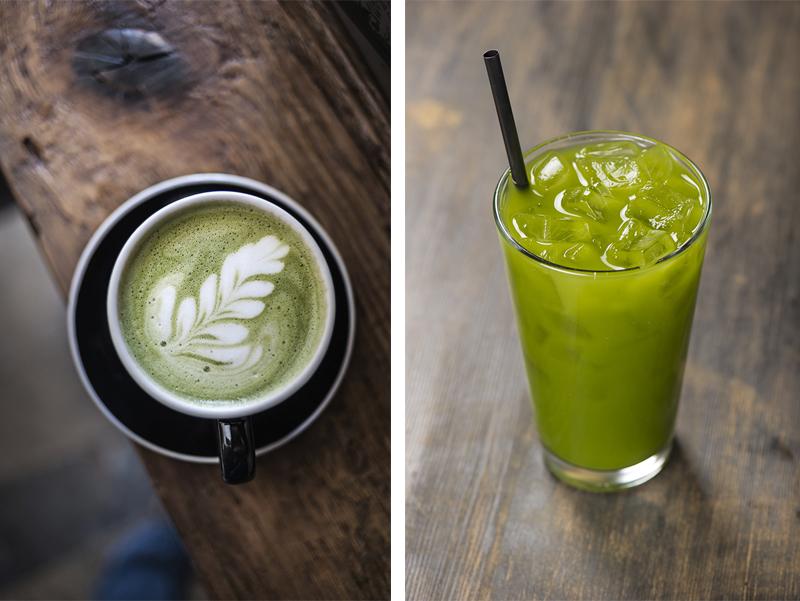 Grønn cofie Kaffe vært